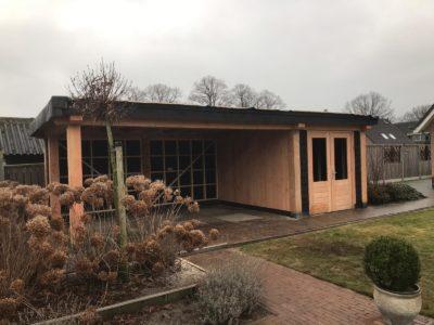 tuinhuis van douglas hout